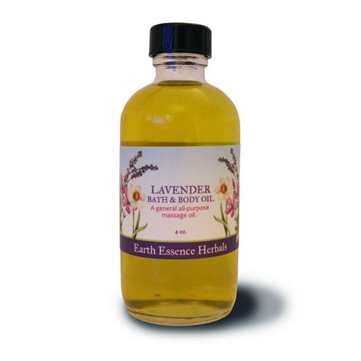 Lavender Bath and Body Oil